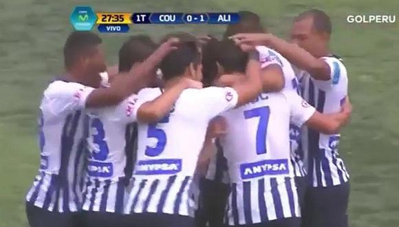 Alianza Lima venció 2-0 a Comerciantes Unidos en Cutervo