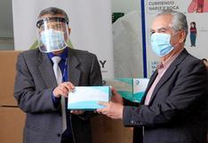Donan ocho mil pruebas para determinar prevalencia de la COVID-19 en Cusco