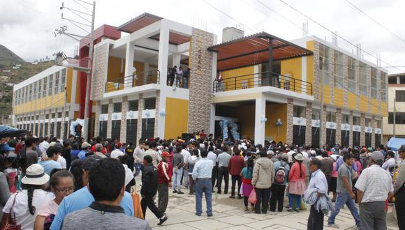 Inaugurado durante el periodo de alcaldesa Daysi Soto/foto:Diario Correo