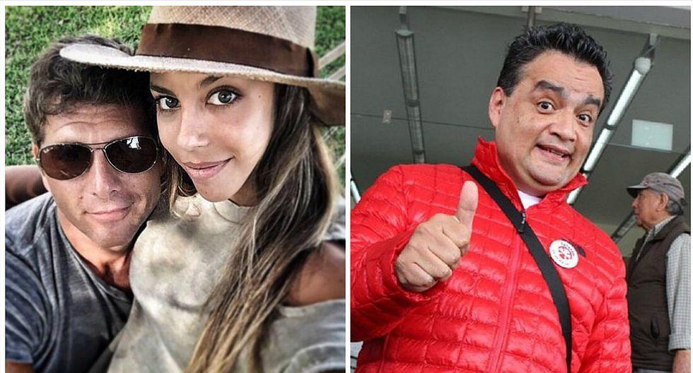 Alondra García Miró y Christian Meier: no creerás la imitación que hizo JB de la pareja (FOTOS)