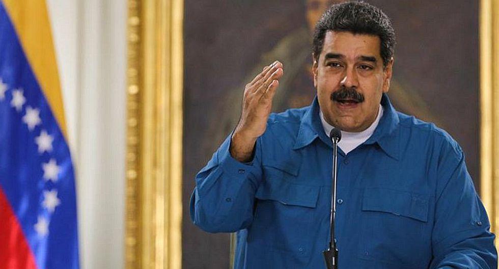 """Nicolás Maduro dice que """"como sea"""" otorgará un millón de barriles de petróleo a China"""