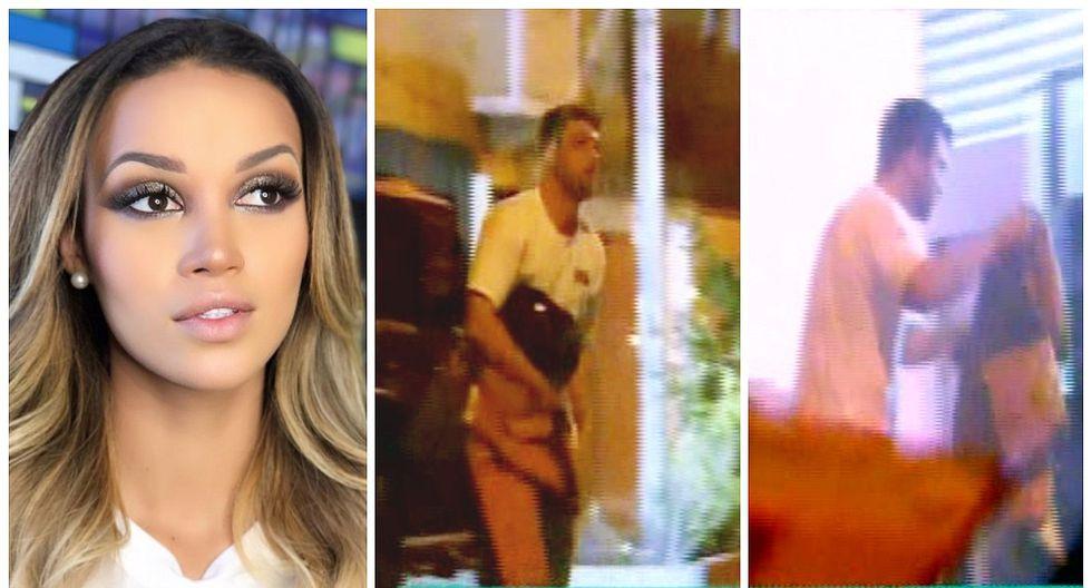 Nicola Porcella fue captado ingresando a departamento de Angie Arizaga, según 'Válgame Dios' (VIDEO)