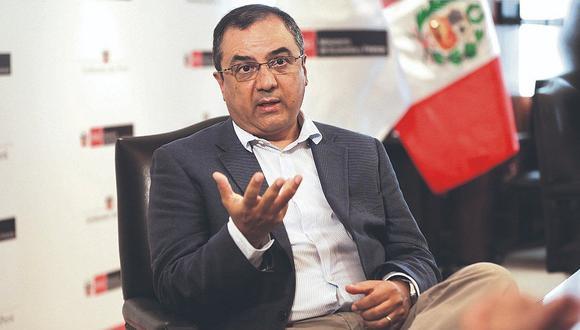 Ministro de Economía y Finanzas anunció que el Perú crecerá un 4% en economía en 2020