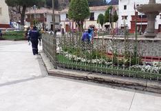 Municipalidad de Huancavelica denunciada por alteración de Plaza de Armas