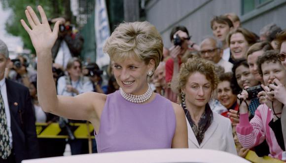 La Princesa Diana marcó el mundo de la moda con su elegancia particular. (Foto: AFP)