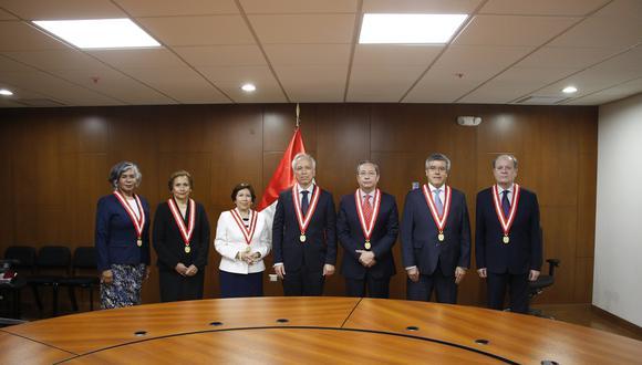 La Junta Nacional de Justicia (JNJ) anunció que este lunes 31 de agosto tomará juramento a los nuevos jefes de la ONPE y Reniec. (Foto: JNJ)