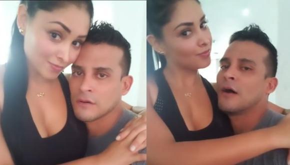 """Christian Domínguez dijo que no se puede """"autoflagelar"""" al entrenar a Pamela Franco porque sino ella no """"planchará, cocinará ni lavará"""". Foto: Instagram"""