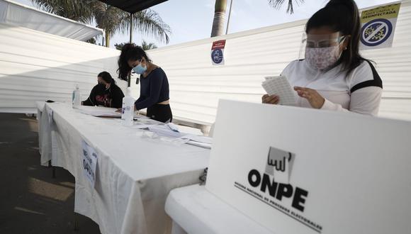 La ONPE indicó que el plazo para el registro de datos es desde este miércoles 21 hasta el 29 de abril.