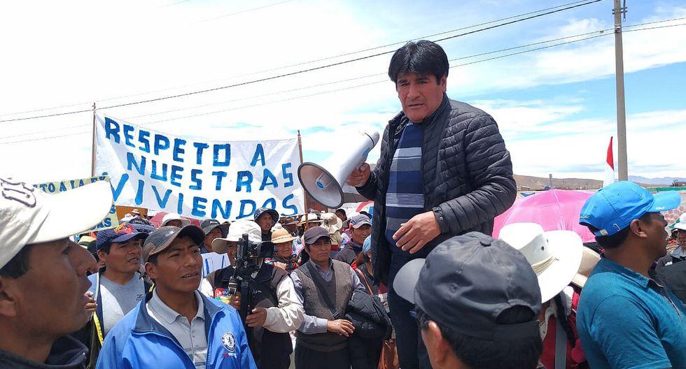 Cancollani protesta contra ampliación de aeropuerto en Juliaca