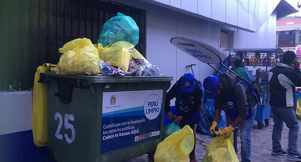 En tres días de festividad acumularon 270 toneladas de basura
