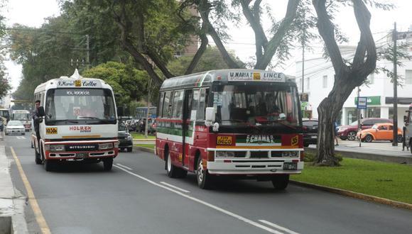 Transporte Público (Foto: Archivo)