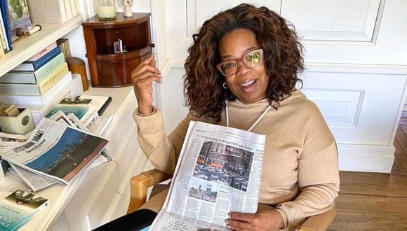 Apple TV+ alista un documental sobre Oprah Winfrey que dirigirá Kevin Macdonald. (Foto: AFP)
