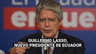 El derechista Guillermo Lasso derrota al correísta Andrés Arauz y es el nuevo presidente de Ecuador