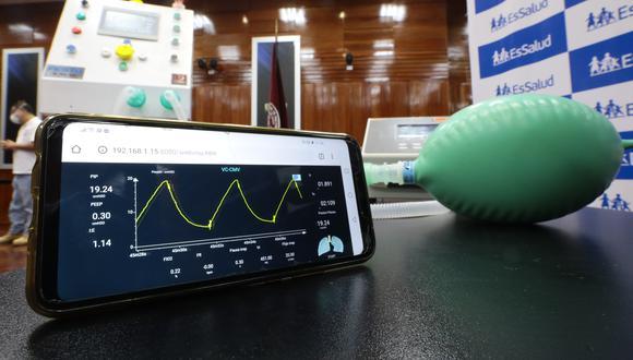 El equipo médico se suma a los desarrollos tecnológicos que muestran el talento peruano en medio de la pandemia por coronavirus. (Foto: EsSalud)
