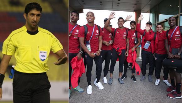 Conoce al árbitro que desginó FIFA para el Perú vs Francia