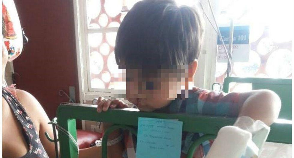 Acusan a trabajador de la municipalidad de VMT de agredir a niño en medio de discusión