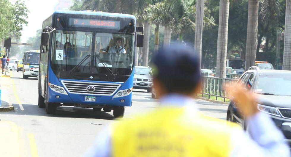 Inspectores de transporte fueron agredidos en Corredor Javier Prado