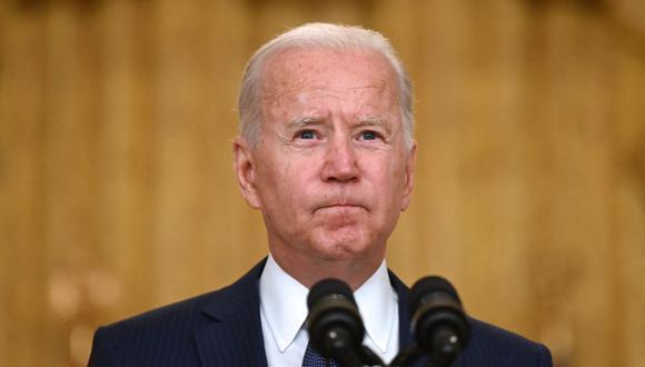 El presidente de Estados Unidos, Joe Biden. (Jim WATSON / AFP).