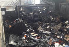Arequipa: Familia pierde su vivienda por incendio y 14 mil soles de ahorro para construcción