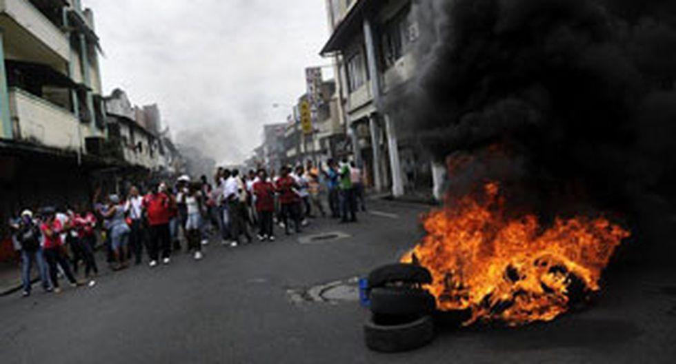 Panamá: Niño de 10 años muere baleado en medio de protestas