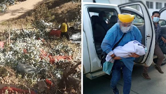 volcadura deja un muerto y varios heridos/foto Correo
