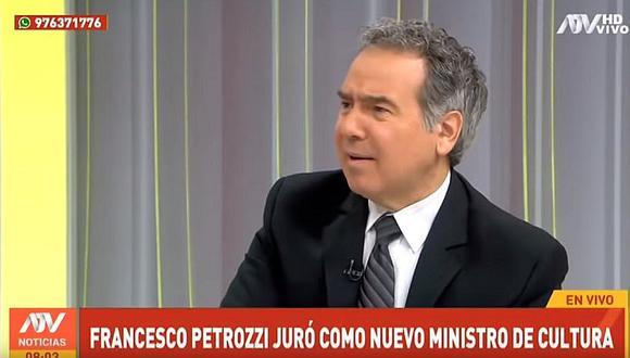 """Francesco Petrozzi: """"Me da pena el final que ha tenido el fujimorismo"""""""