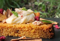 Receta del carrot cake en microondas
