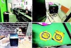 Sujetos intentan robar la caja fuerte de un banco en Piura