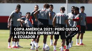 Copa América: último entrenamiento de la selección peruana previo al partido ante Ecuador
