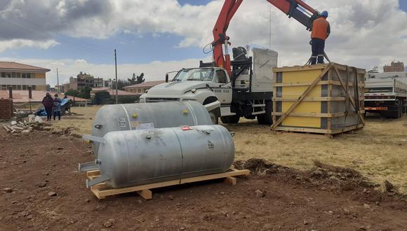 La población de la región Puno hizo una colecta para comprar una planta de oxigeno.