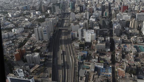 Así luce las calles de nuestra capital en medio de cuarentena. (Fotos: César Campos/GEC)