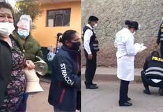 Menor muere por disparo en el rostro en medio de balacera en Cusco (VIDEO)