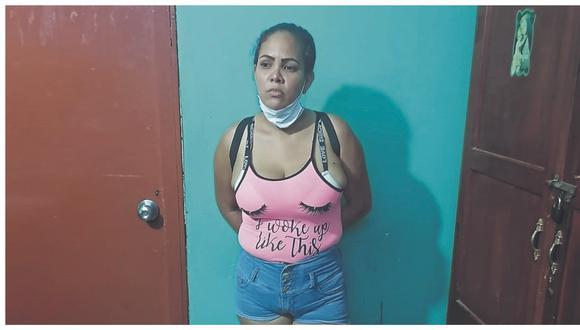 Extranjera fue identificada como Oriana Palacios y es conducida a la dependencia policial de Zarumilla.
