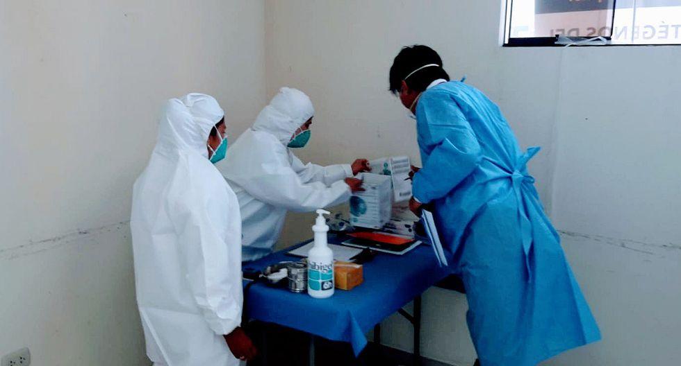Arequipa: 15 casos de coronavirus y una sospechosa fallece a la espera de atención