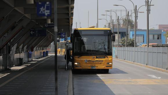 La ATU informó sobre los nuevos horarios para el transporte público. (Foto: GEC)