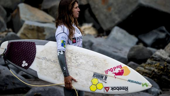 Sofia Mulanovich es tres veces campeona mundial. (Foto: AFP)