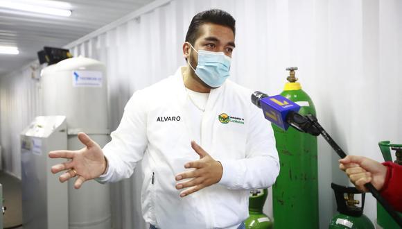 Alcalde de la Molina denuncia que recibe amenazas de muerte por ofrecer oxígeno gratis. (Foto: Jessica Vicente /GEC)
