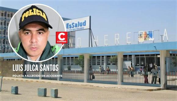 El suboficial se encontraba internado en el Hospital Regional José Cayetano Heredia de Castilla y dejó de existir la noche del martes.