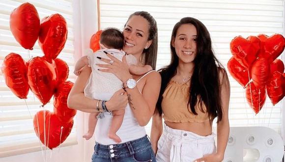 """""""Me encanta, qué hermoso trabajo, la verdad, estoy súper feliz"""", dijo la hija de Melissa Klug quien además también saludó a su hermano menor por su cumpleaños. (Instagram)"""