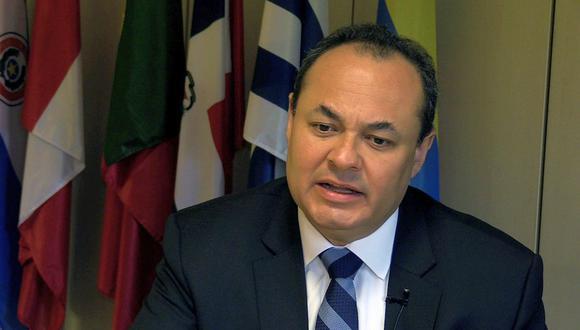 Luis Carranza fue presidente del CAF desde el 2017 y renunció al cargo el pasado 23 de marzo. (Foto: EFE)