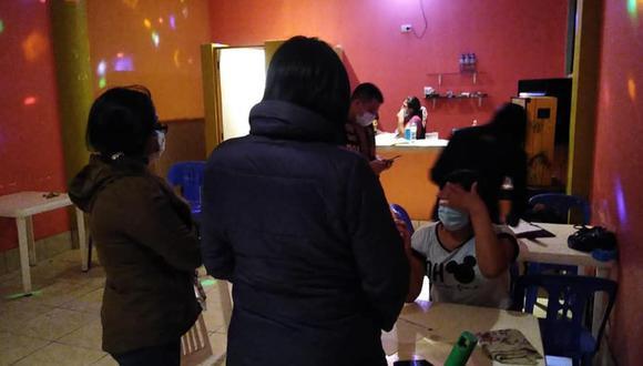 Arequipa: Unas 40 mujeres serían víctimas de explotación sexual en bares del distrito de Chala, informó el Ministerio Público. (Foto: Fiscalía)