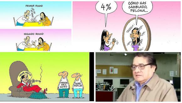 """Alfredo Marcos: """"Si no fuera caricaturista, sería una caricatura"""" (VIDEO)"""