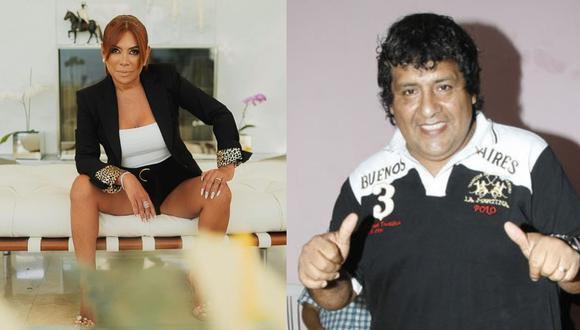 Toño Centella y Magaly Medina