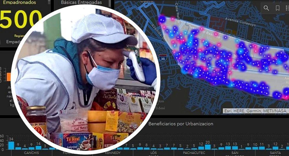 En Cusco utilizan tecnología geoespacial para combatir la pandemia del COVID-19