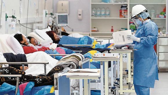 Marco Loret de Mola advierte que todos los indicadores apuntan hacia arriba, pese a que el sistema de salud ya está colapsado. (Foto: GEC)