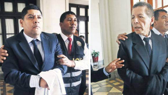 Fiscales Rossel y Chafloque (Foto: Joel Alonzo)