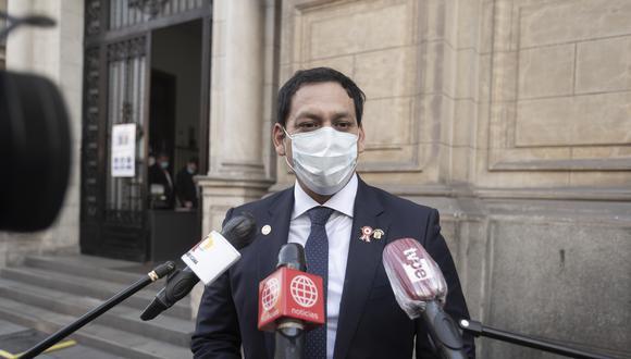 Luis Valdez negó que haya algún intento para censurar a Francisco Sagasti. (Foto: Archivo de GEC)