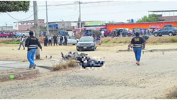 El crimen se registró a pocos metros de donde fue baleado el empresario Miguel Llanos. (Foto: GEC)