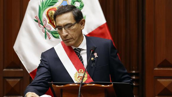 Martín Vizcarra es denunciado penalmente por genocidio (Foto: Presidencia)