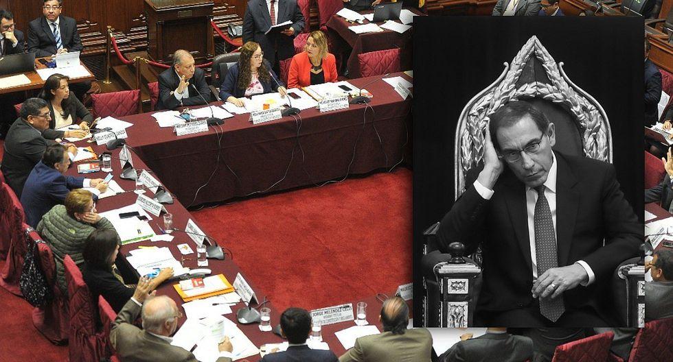 Comisión de Constitución evalúa revisar la inmunidad presidencial